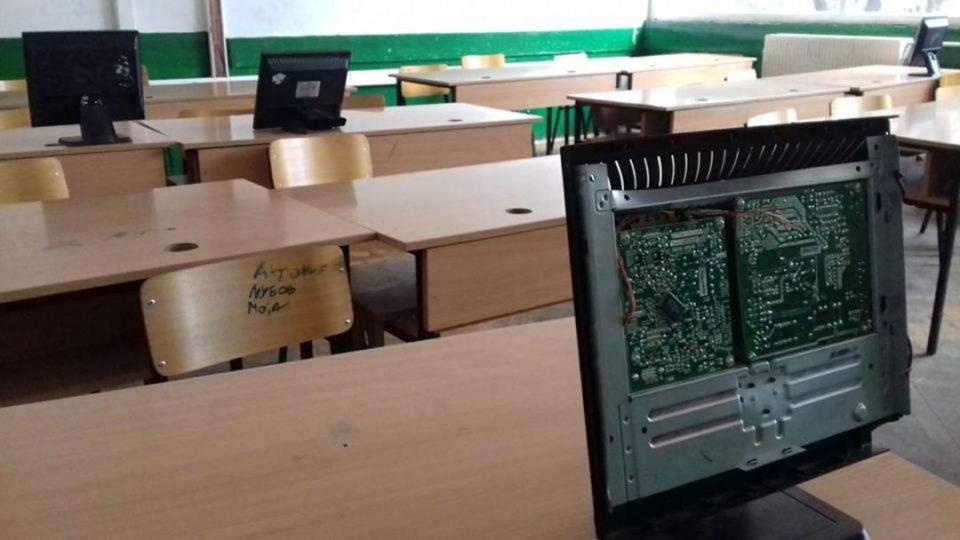 Се степале две колешки во основно училиште во Чаир