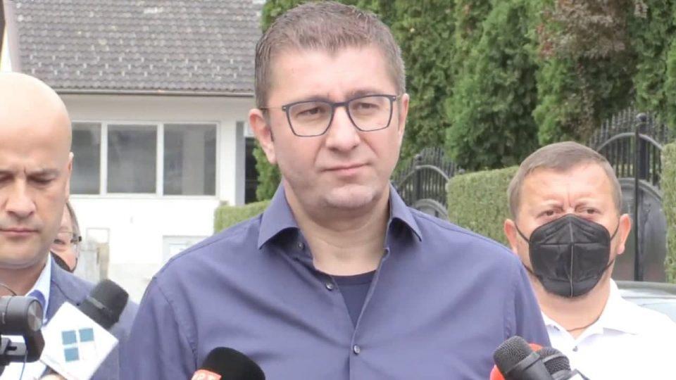 Мицкоски во посета на настраданите фамилии во Тетово: Виновниците мора да сносат одговорност