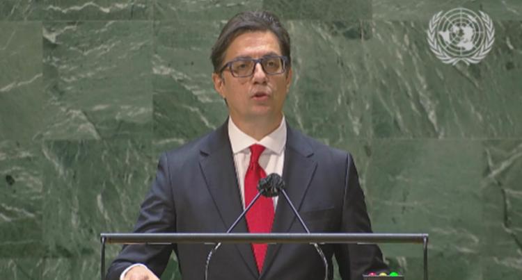 Пендаровски во ОН: Одговорно визионерско лидерство, поголема емпатија, соработка и солидарност