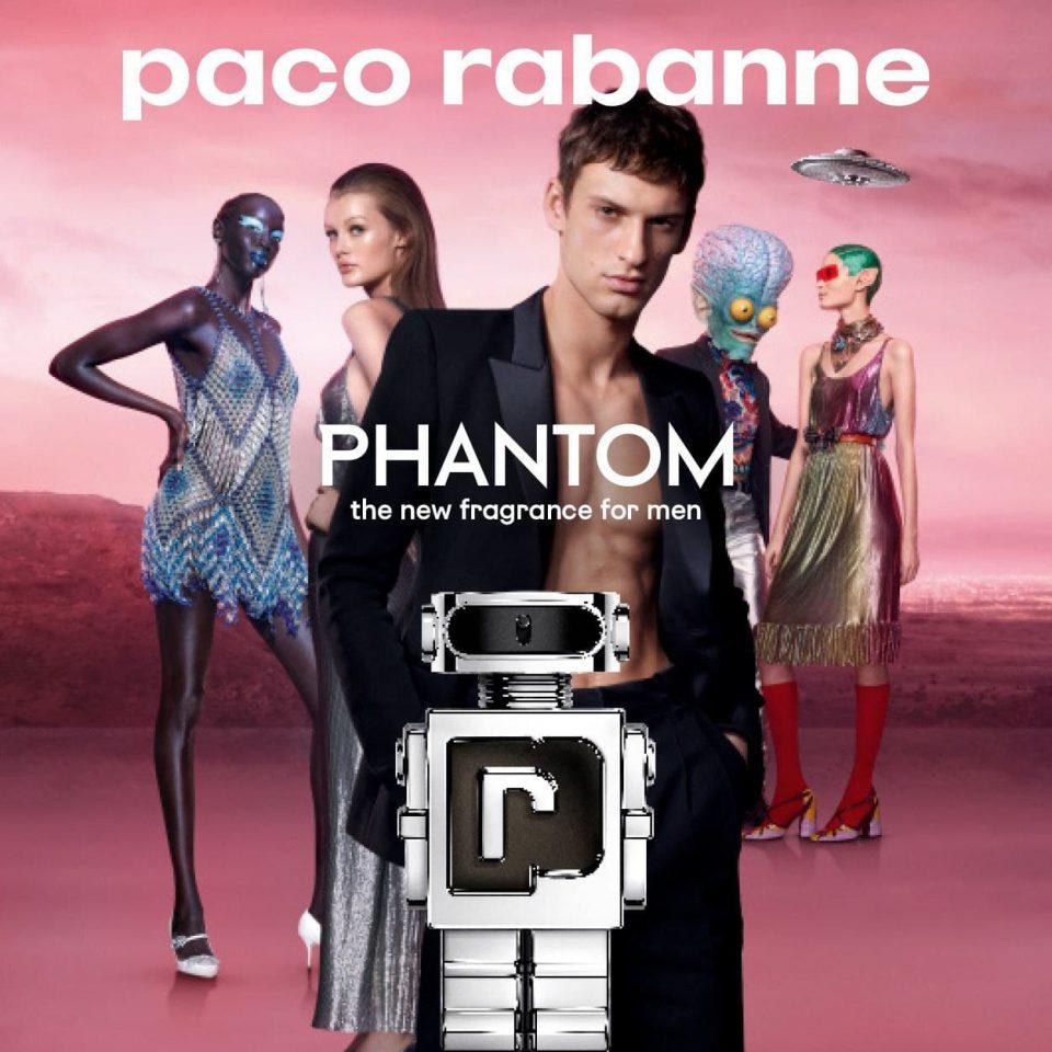 PHANTOM – Моќен машки парфем од нова галаксија