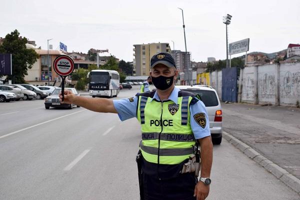 Скопје: Во текот на вчерашниот ден санкционирани близу 200 возачи