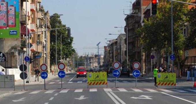 Избегнувајте ги овие крстосници: Изменет сообраќаен режим денеска во Скопје