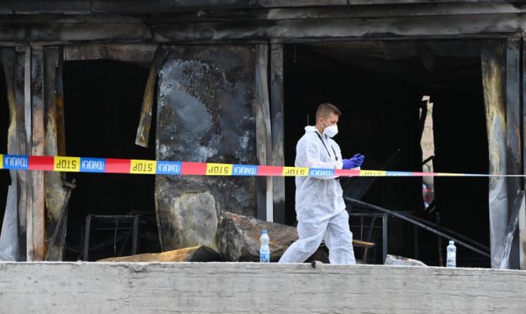 Пристигнаа германските експерти кои ќе го истражуваат пожарот во Тетово