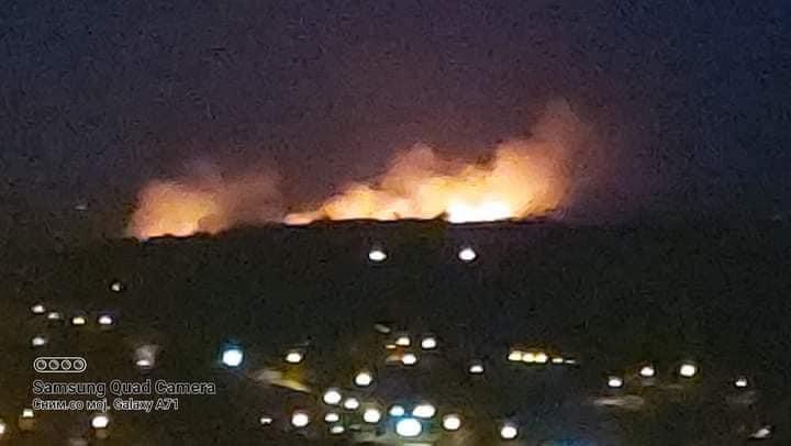 Изгаснат големиот шумски пожар во близина на Велес – Изгореа над 200 хектари шума