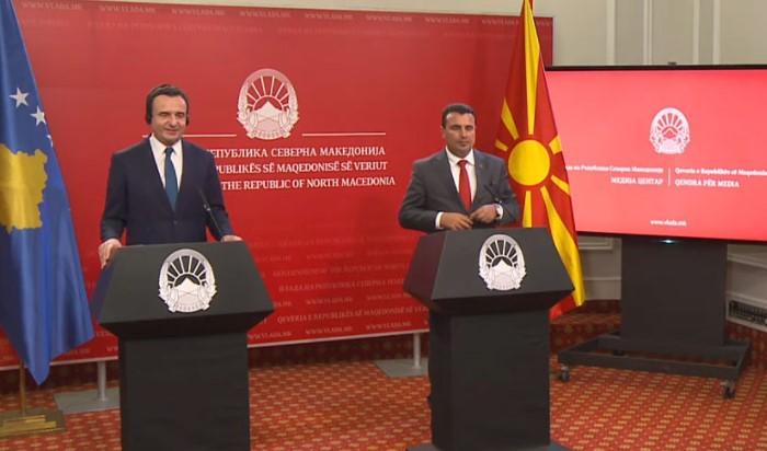 Заев-Курти: Секое унапредување на односите меѓу соседите, носи стабилност и просперитет за целиот регион