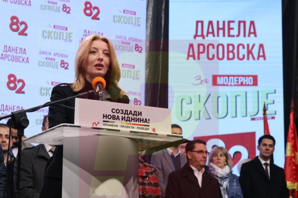 Арсовска: Јас како иден градоначалник ветувам дека ГУП ќе биде отворен и за сите скопјани, да знаат што се планира во нивното маало