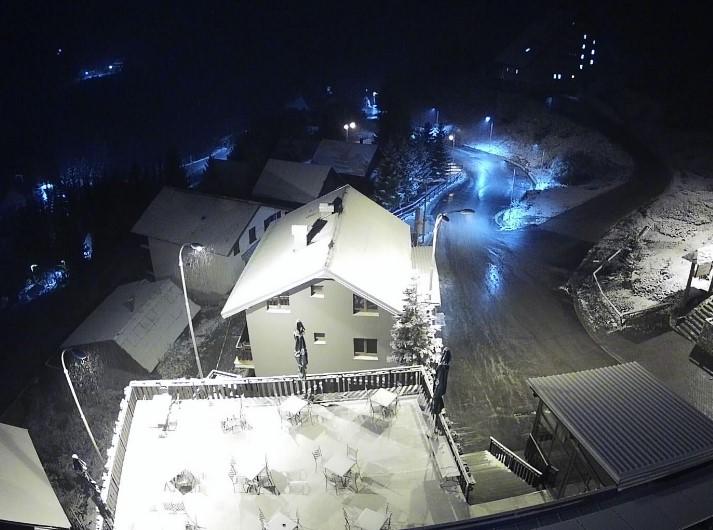 Вечерва падна снег на Шапка