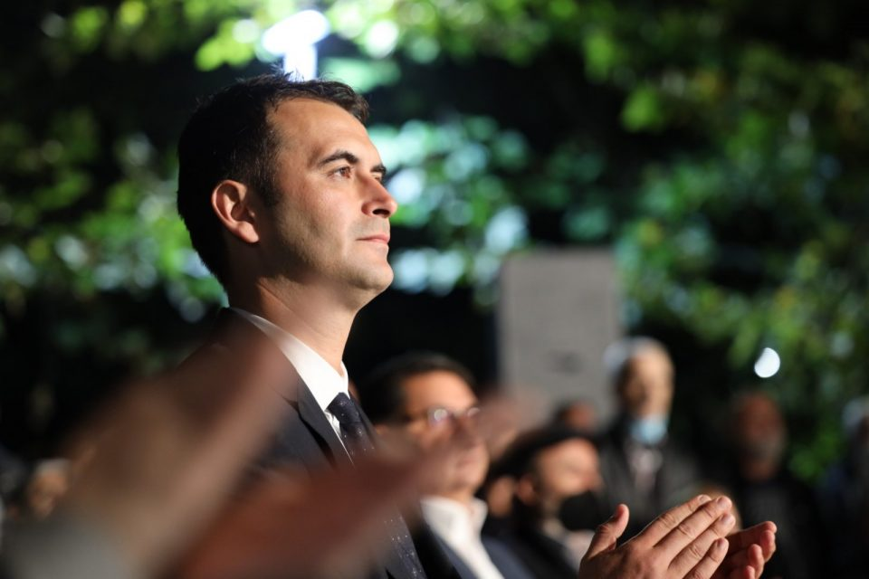 (ВИДЕО) Стојкоски ги повика жителите на Ѓорче Петров да гласаат за над 200 проекти опфатени во неговата програма